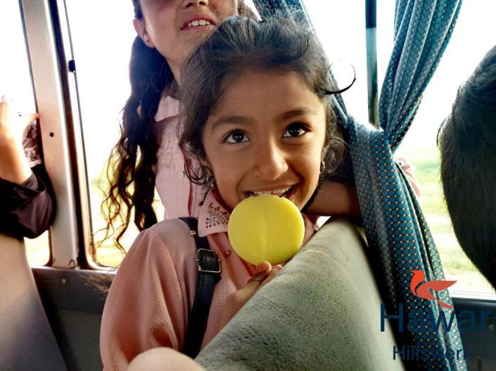 Freizeitausflüge mit Waisenkindern aus Shingal